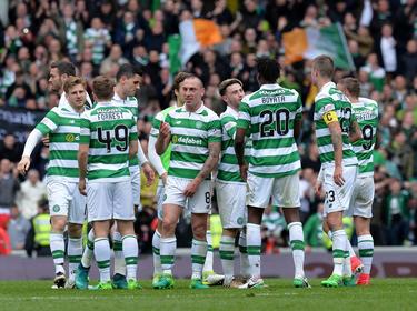 El Celtic celebra un tanto el pasado mes de abril. (Foto: Getty)