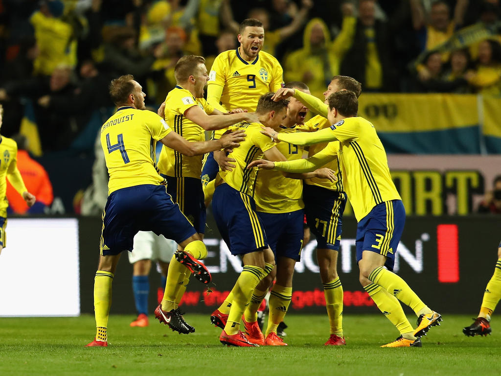 Italien Schweden Tor