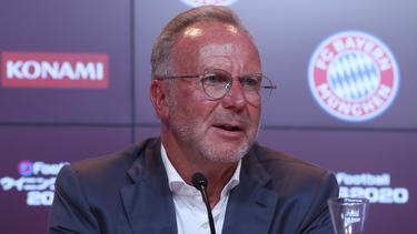 Karl-Heinz Rummenigge ist der Vorstandschef des FC Bayern München