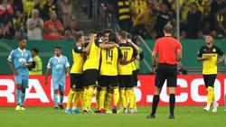 Der BVB steht in der zweiten Pokalrunde