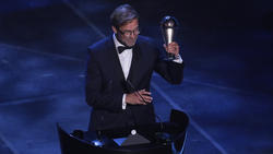 Jürgen Klopp ist zum FIFA-Welttrainer gewählt worden