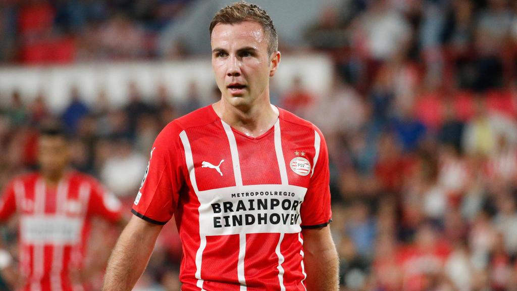 Mario Götze spielt seine zweite Saison in Eindhoven