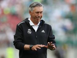 Carlo Ancelotti vuelve esta temporada al equipo blanco.
