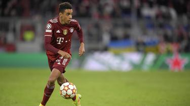Jamal Musiala hat beim FC Bayern eine steile Entwicklung hingelegt