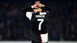 Cristiano Ronaldo verliert mit Juventus