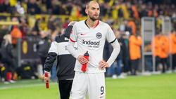 Bas Dost wartet bei Eintracht Frankfurt noch auf den großen Durchbruch