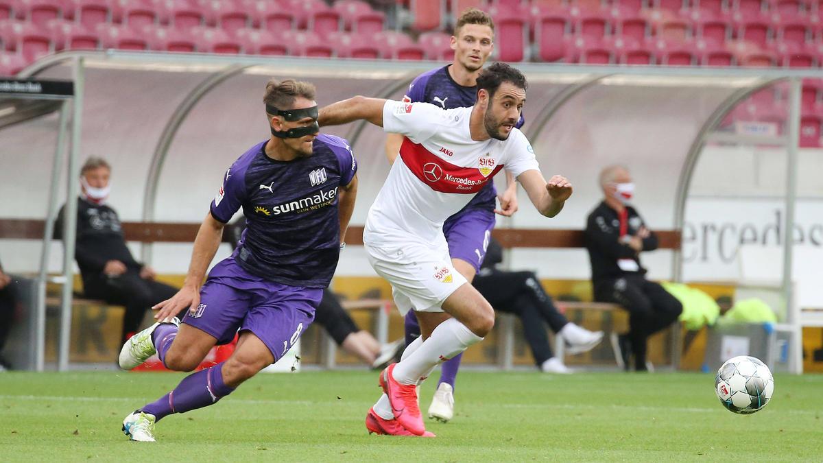 Der VfB Stuttgart und der VfL Osnabrück trennten sich unentnschieden