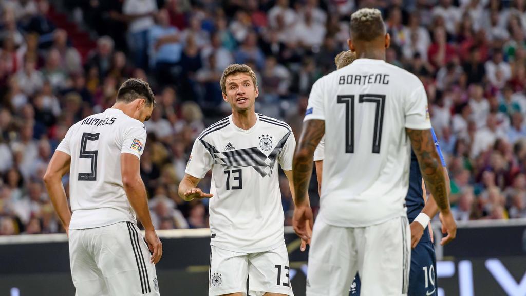 Für Müller, Boateng und Hummels ist der Zug Nationalmannschaft abgefahren