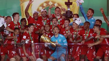 Der FC Bayern feierte seinen 20. Pokalsieg