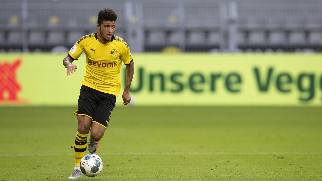Verlässt Jadon Sancho den BVB vorzeitig?