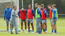 Bruno Labbadia stellt seine Mannschaft für das Spiel gegen Eintracht Braunschweig ein