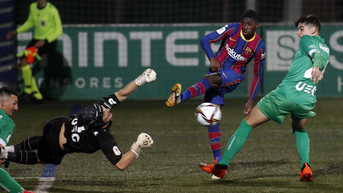 Ousmane Dembélé erzielte einen Treffer für den FC Barcelona