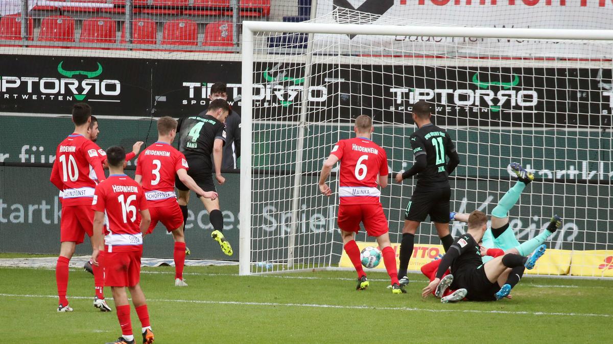 Greuther Fürth nimmt drei Punkte aus Heidenheim mit