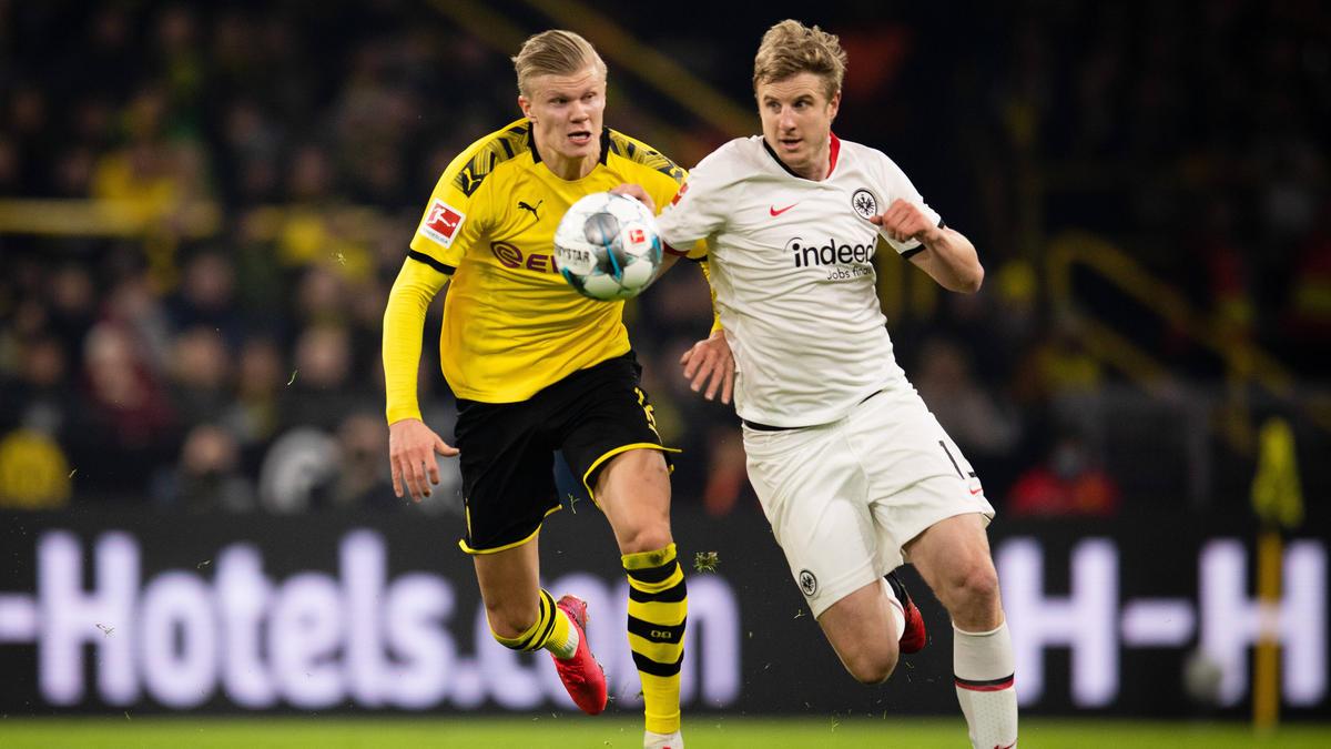 Der BVB und die Eintracht treffen am Samstagabend aufeinander