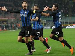 El Inter de Milán no tuvo problemas para deshacerse de su rival. (Foto: Getty)