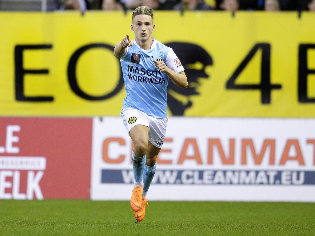 Donis Avdijaj ist derzeit an Roda Kerkrade verliehen