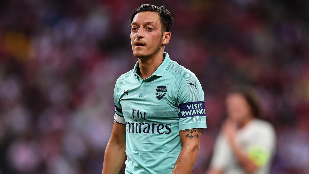 Mesut Özil ist Führungsspieler beim FC Arsenal