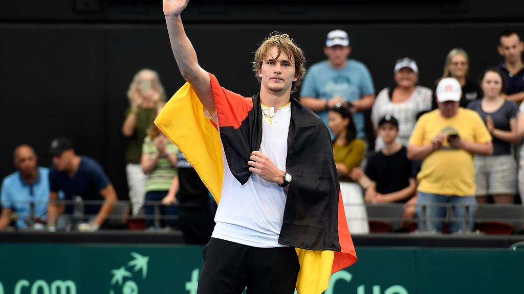 Alexander Zverev möchte wieder für Deutschland spielen