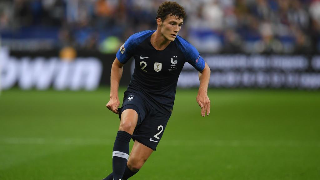 Benjamin Pavard steht im Aufgebot der französischen Nationalmannschaft