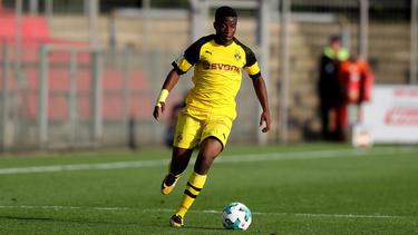 Youssoufa Moukoko spielt derzeit für die U17 des BVB