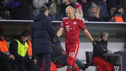 Rückendeckung für Bayern-Trainer Kovac gab es auch von Arjen Robben