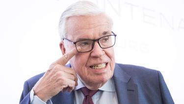 HSV-Investor Klaus Michael Kühne ist weiter zur Zusammenarbeit mit der Klubspitze bereit