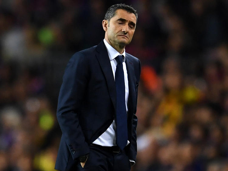 Ernesto Valverde en una imagen de archivo en el Camp Nou. (Foto: Getty)