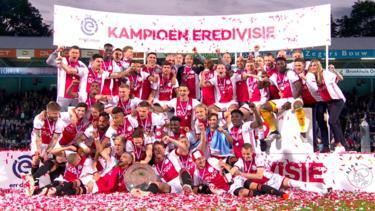 El Ajax ganó el primer doblete de copa y liga 17 años después. (Foto: Getty)