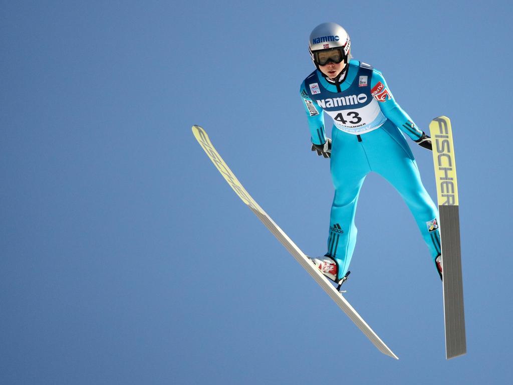 Maren Lundby gewann ihren ersten Weltcup