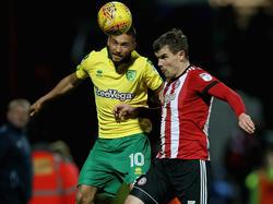 Moritz Leitner (l.) will mit Norwich in Englands Eliteliga aufsteigen