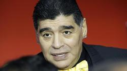 Hat immer wieder mit gesundheitlichen Problemen zu kämpfen: Fußball-Ikone Diego Maradona