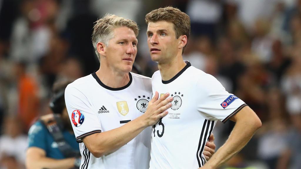 Bastian Schweinsteiger und Thomas Müller wurden 2014 gemeinsam Weltmeister