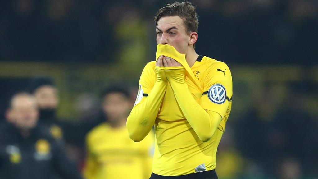 Jacob Bruun Larsen ist derzeit nicht glücklich beim BVB