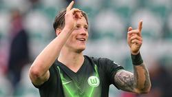 Wout Weghorst erzielte den Siegtreffer für den VfL Wolfsburg