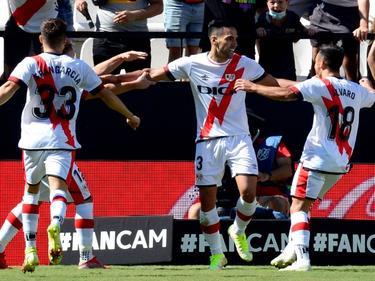 Falcao se ha estrenado con gol en Vallecas.