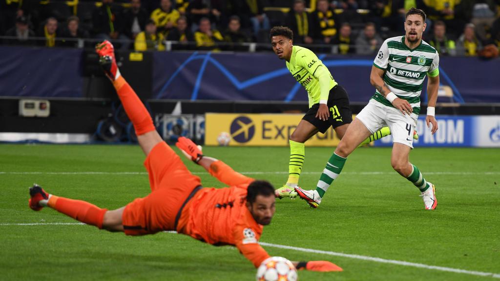 Donyell Malen erzielte für den BVB den Treffer des Tages