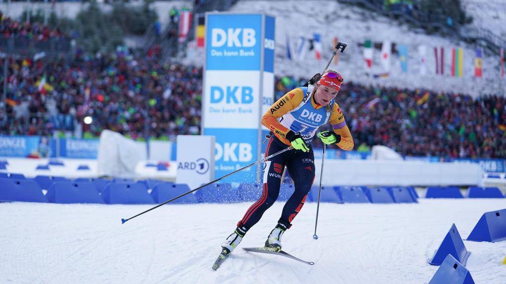 Denise Herrmann verpasst in Oberhof das Podest