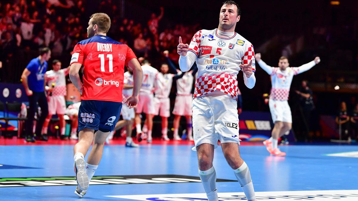 Domagoj Duvnjak führte seine Kroaten ins Finale