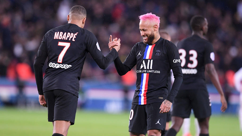 Kylian Mbappé und Neymar stehen bei PSG im Fokus