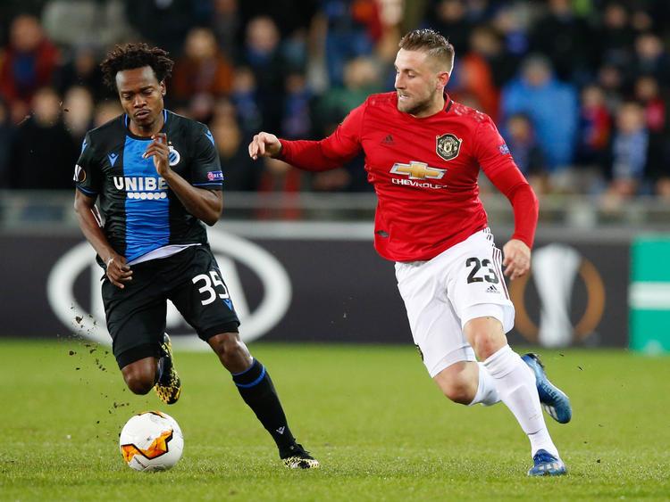 Manchester United ist in Brügge zu Gast