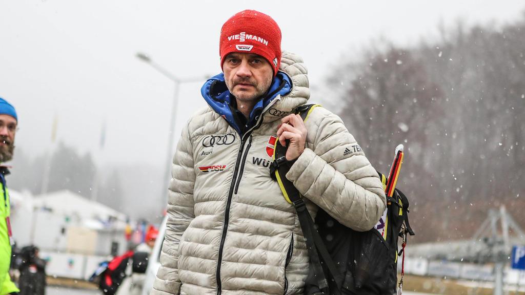 Organisiert Heimtraining für die deutschen Skispringer: Bundestrainer Stefan Horngacher