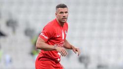 Trug zum Sieg gegen Besiktas bei: Podolski