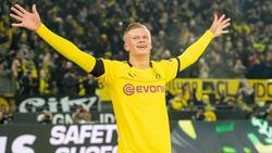 """Erling Haland vom BVB dar sich Hoffnungen auf den """"Golden Boy""""-Award machen"""