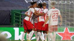 RB Leipzig hat Atlético Madrid aus dem Wettbewerb gekegelt