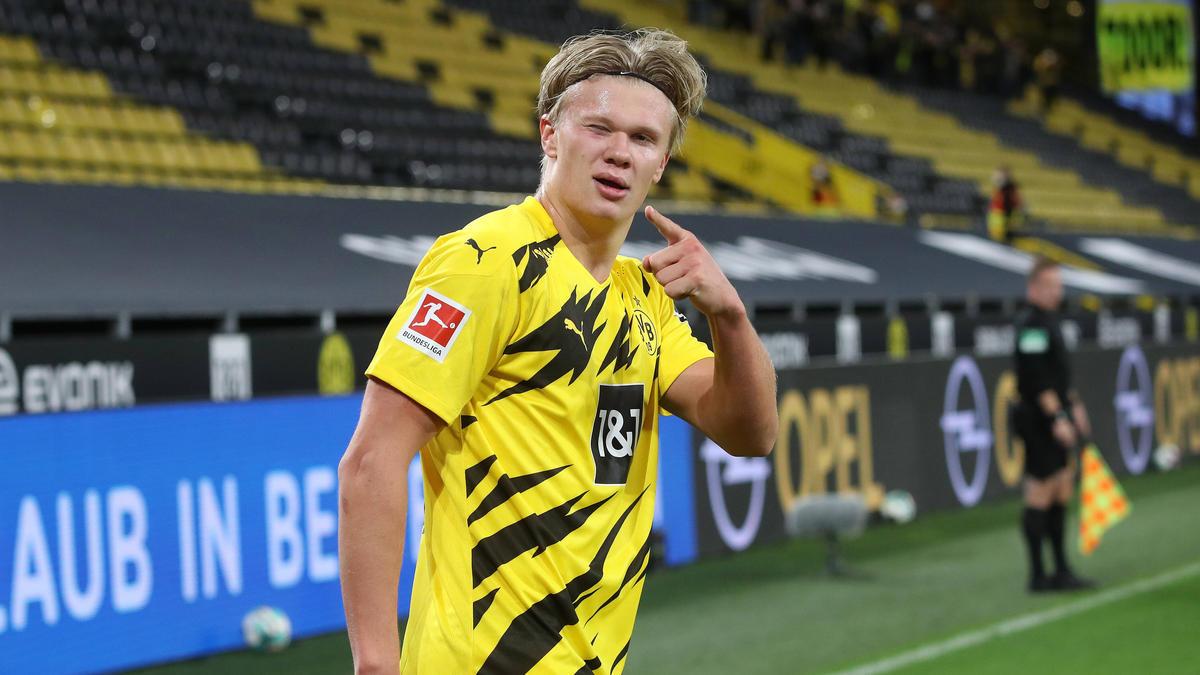 """Erling Haaland vom BVB ist der """"Golden Boy 2020"""""""