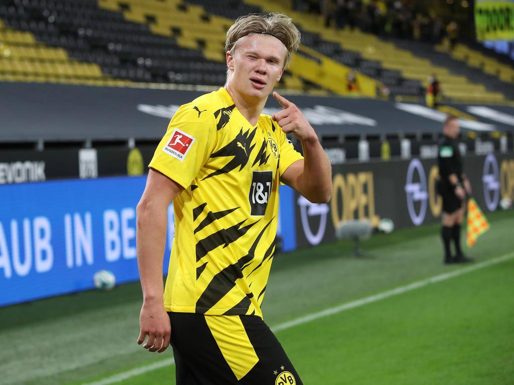 Erling Håland vom BVB ist der