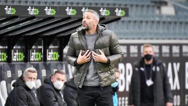 Marco Rose hat mit Gladbach noch alle Chancen auf die Teilnahme am Achtelfinale der Champions League