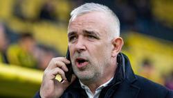 Dirk Zingler, Präsident des Fußball Bundesligisten 1. FC Union Berlin
