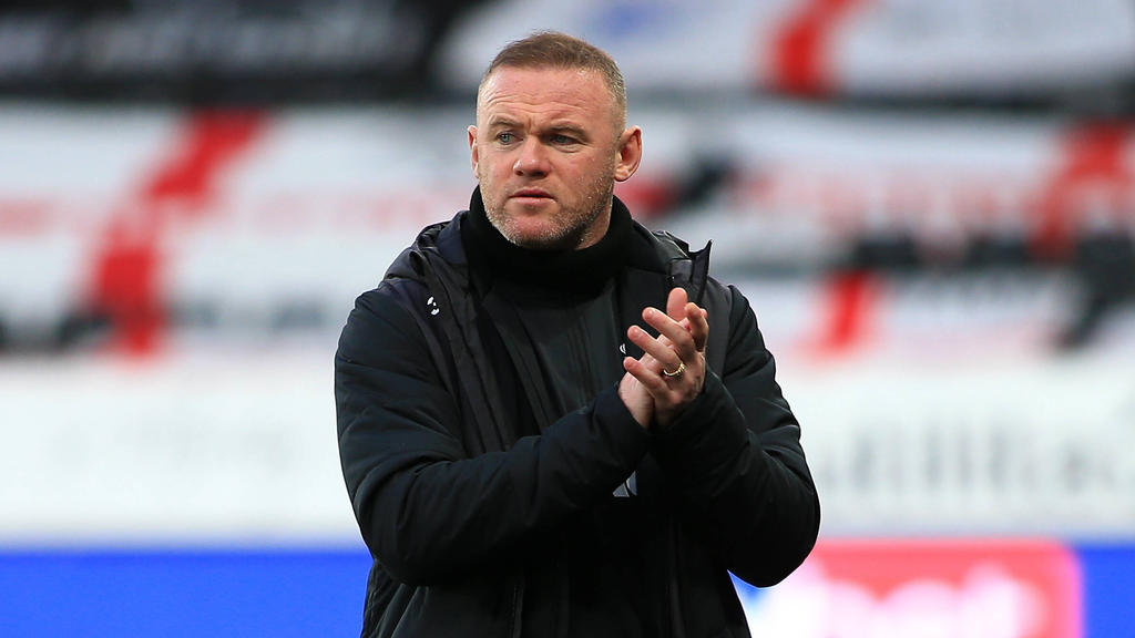 Rooney jetzt offiziell Teammanager bei Derby County