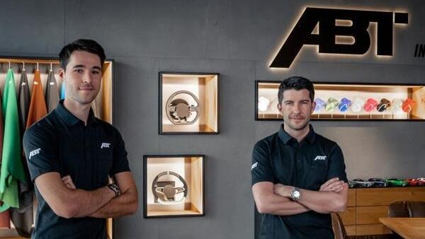 Neues Duo für die GT3-DTM bei Abt: Kelvin van der Linde und Mike Rockenfeller